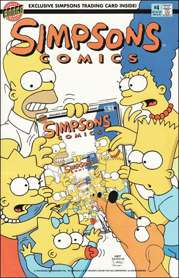 Simpsons Comics 4-A by Bongo