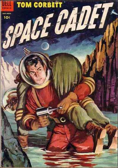Tom Corbett, Space Cadet (1953) 11-A by Dell