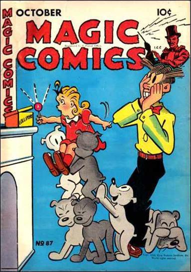 Magic Comics 87-A by David McKay