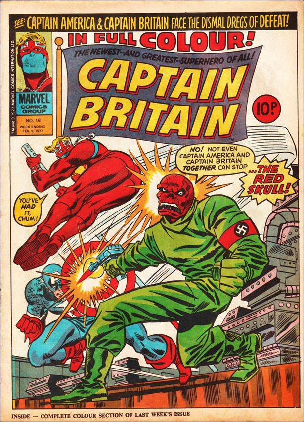 Captain Britain (UK) (1976) 18-A by Marvel UK