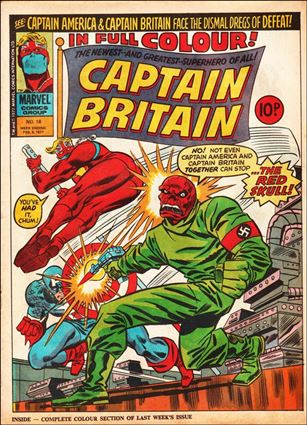Captain Britain (UK) (1976) 18-A