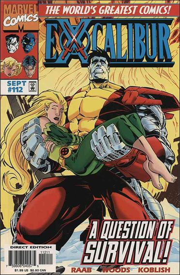 Excalibur (1988) 112-A by Marvel