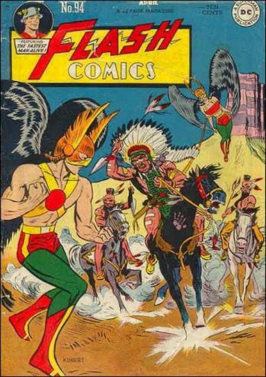 Flash Comics (1939) 94-A by DC