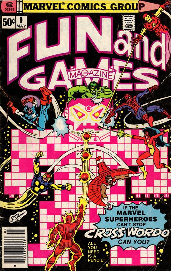 Fun and Games Magazine 9-A by Marvel