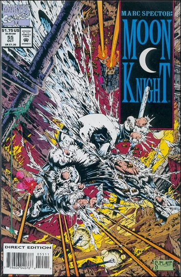 Marc Spector: Moon Knight 55-A by Marvel