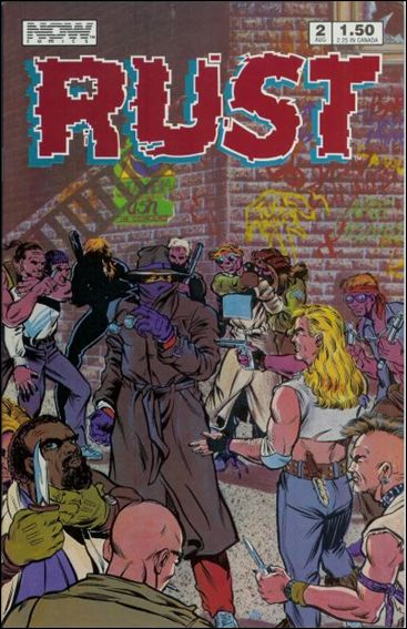 Rust (1987) 2-A by Now Comics