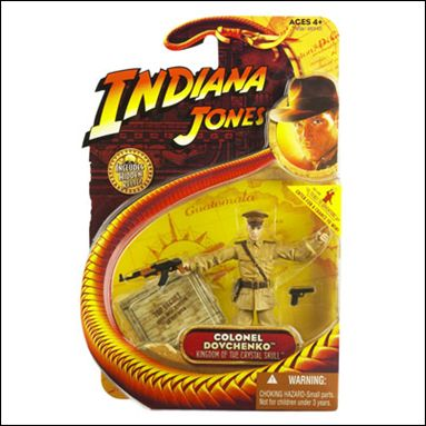 "Indiana Jones Basic 3 3/4"" Action Figures  Colonel Dovchenko by Hasbro"