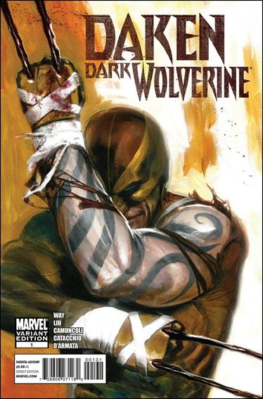 Daken: Dark Wolverine 1-B by Marvel