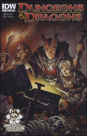 Dungeons & Dragons (2010) 1-E by IDW