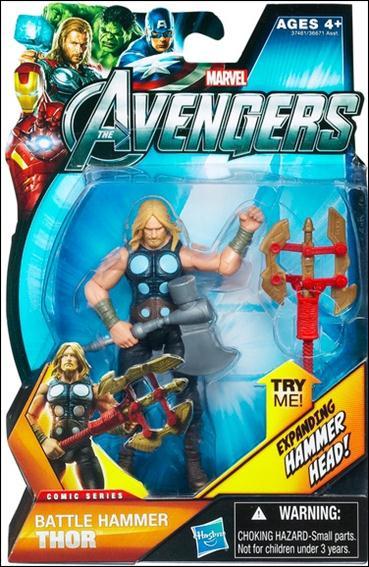 avengers battle hammer thor comic series jan 2012 action figure