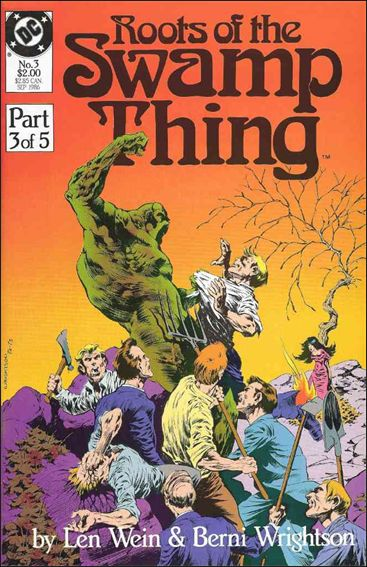 Roots of the Swamp Thing 3-A by DC