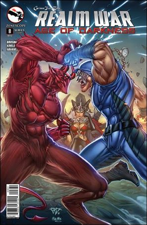 Grimm Fairy Tales Presents Realm War: Age of Darkness 8-C