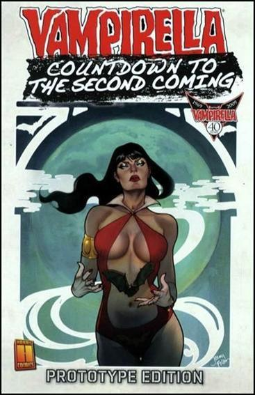 Countdown to Vampirella: The Second Coming - Prototype Edition 1-B by Harris