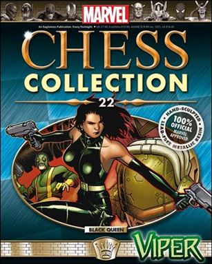 Marvel Chess Collection (UK) 22-A