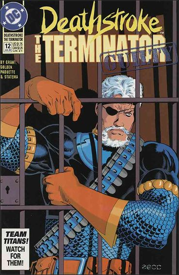 Deathstroke, the Terminator 12-A by DC