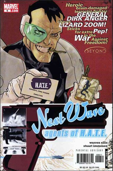 Nextwave: Agents of H.A.T.E. 6-A by Marvel