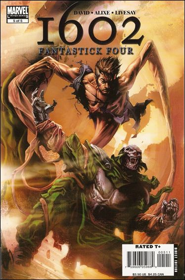 Marvel 1602: Fantastick Four 5-A by Marvel