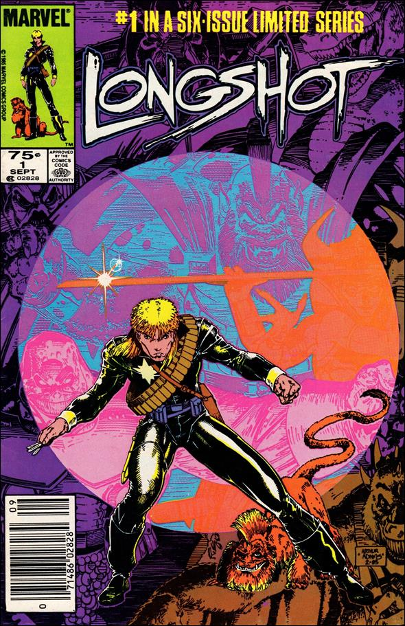 Longshot (1985) 1-A by Marvel