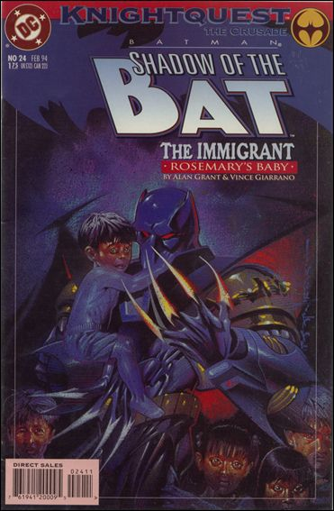 Batman: Shadow of the Bat 24-A by DC