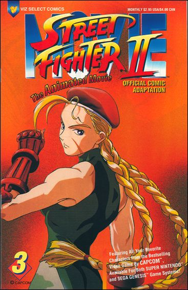 Street Fighter II: The Animated Movie 3-A by Viz