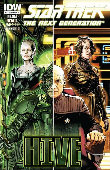 Star Trek: The Next Generation: Hive 2-A by IDW