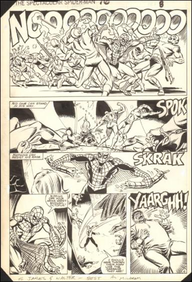 Spectacular Spider-Man (1976) Issue #76 Page 8 by Marvel