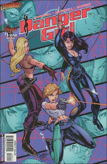 Danger Girl 1-A by Cliffhanger