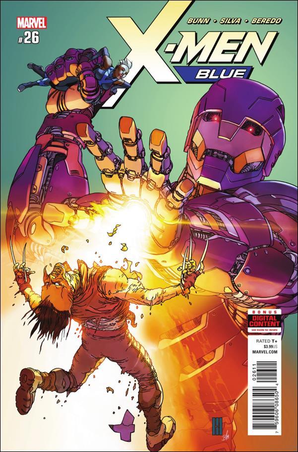X-Men: Blue 26-A by Marvel