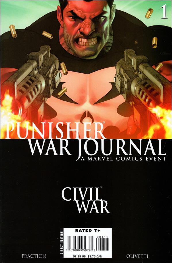 Punisher War Journal (2006) 1-A by Marvel