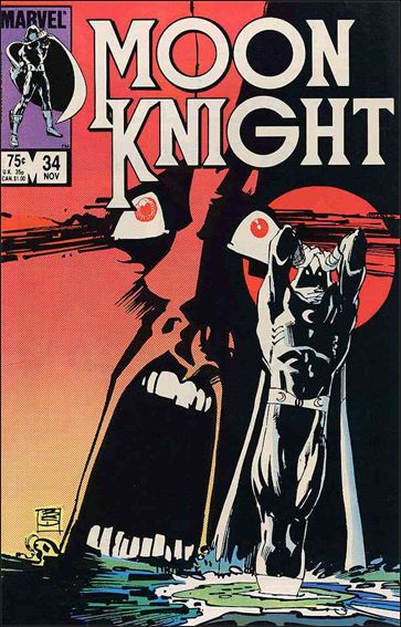 Moon Knight (1980) 34-A by Marvel