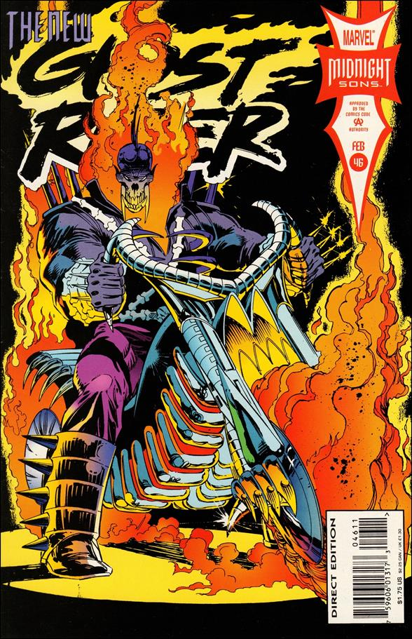 Ghost Rider (1990) 46-A by Marvel