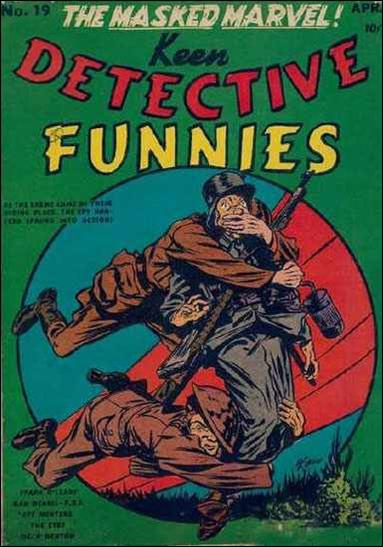 Keen Detective Funnies (1940) 19-A by Centaur Publications Inc.