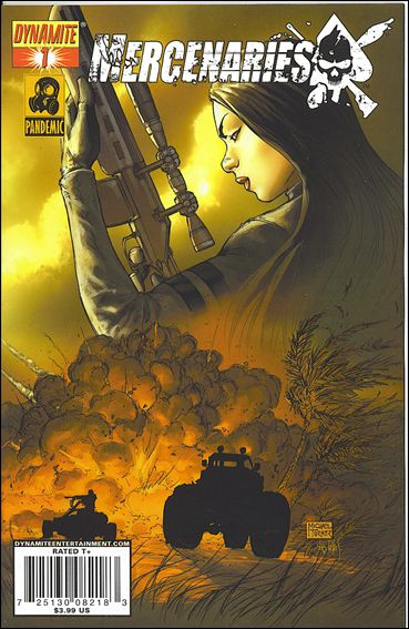 Mercenaries 1-B by Dynamite Entertainment