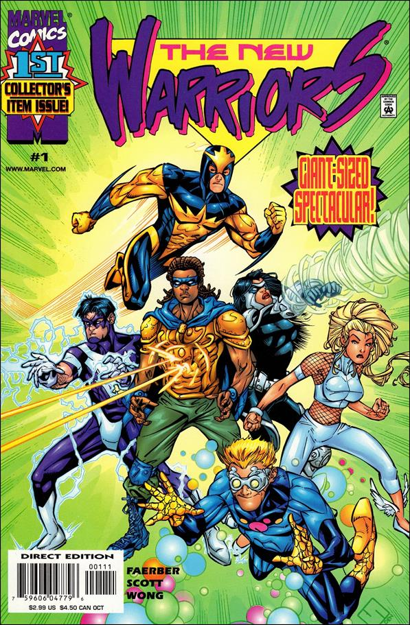 New Warriors (1999) 1-A by Marvel