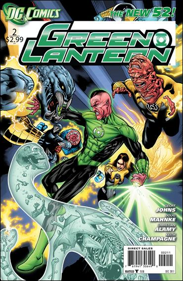Green Lantern (2011) 2-A by DC