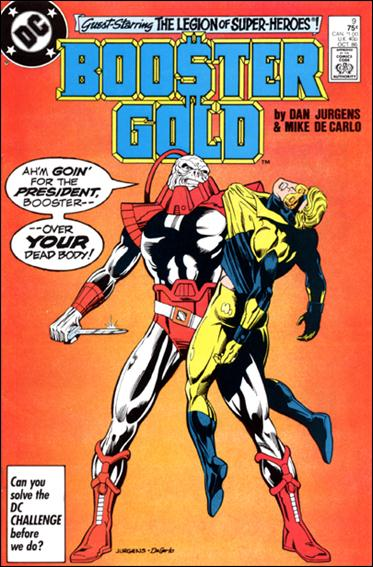 Booster Gold (1986) 9-A by DC