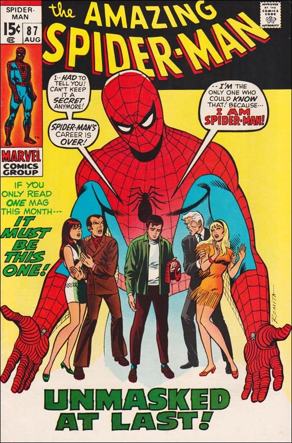 Amazing Spider-Man (1963) 87-A by Marvel