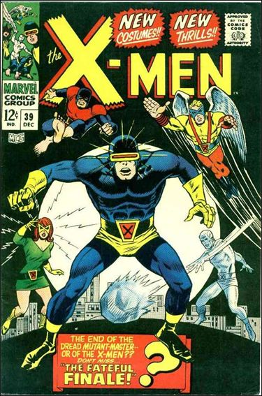 X-Men (1963) 39-A by Marvel