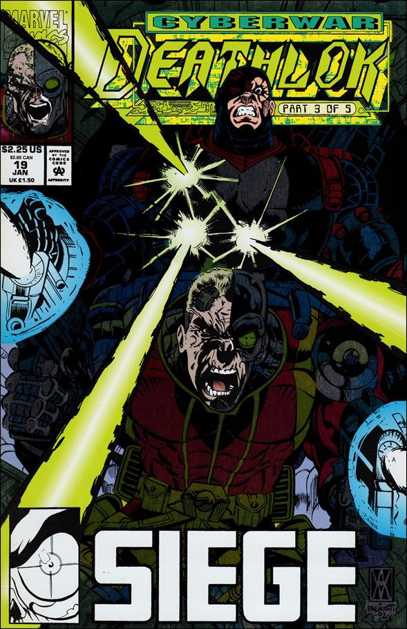 Deathlok (1991) 19-A by Marvel