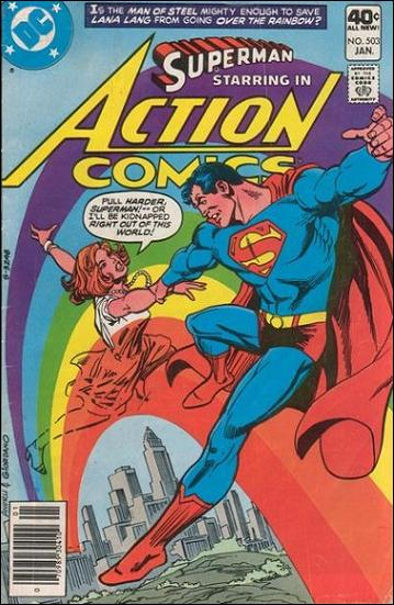 Action Comics (1938) 503-A by DC