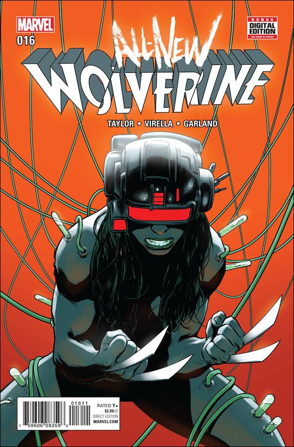 All-New Wolverine  16-A by Marvel