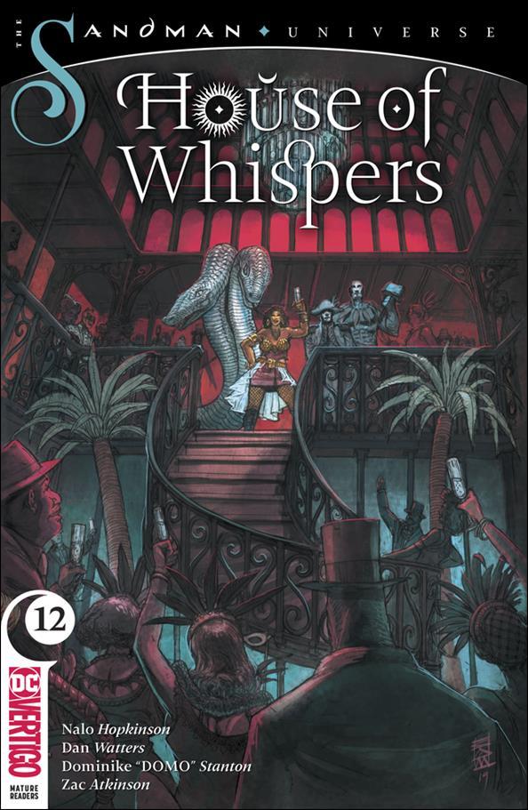 House of Whispers 12-A by Vertigo
