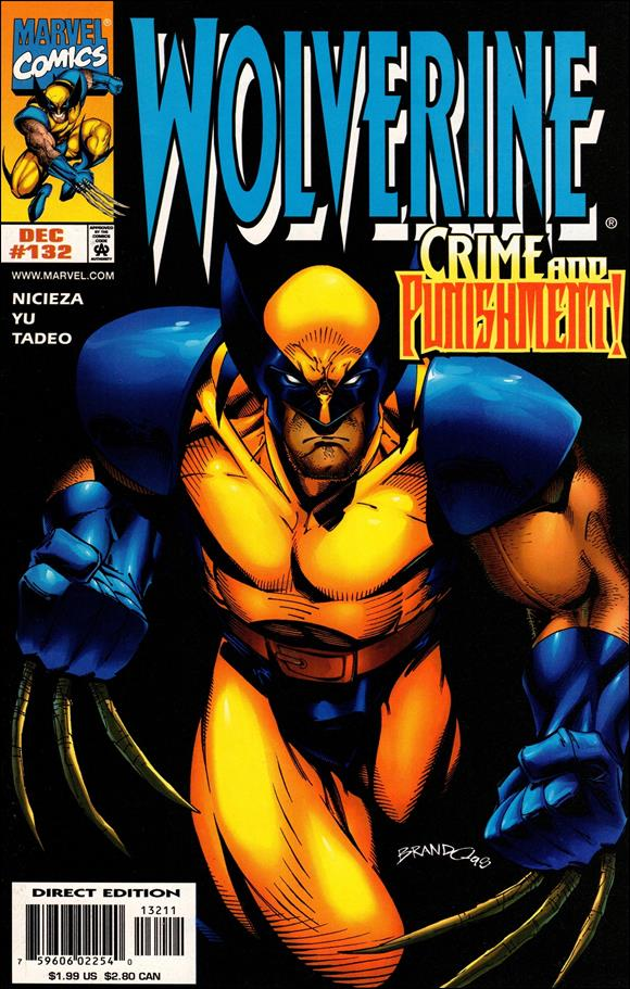 Wolverine (1988)  132-A by Marvel