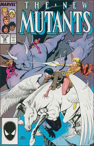 New Mutants (1983) 56-A by Marvel