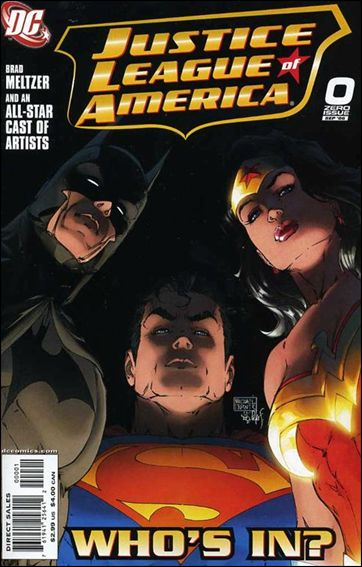 Justice League of America (2006) 0-A by DC