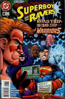 Superboy & The Ravers 8-A by DC
