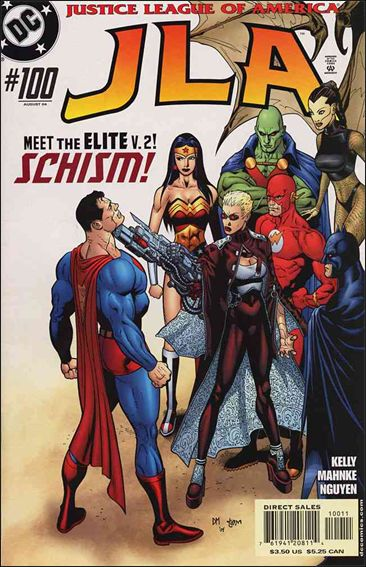 JLA 100-A by DC