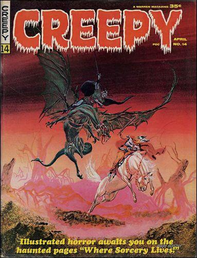 Creepy 14-A by Warren