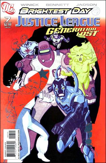 Justice League: Generation Lost 7-A by DC