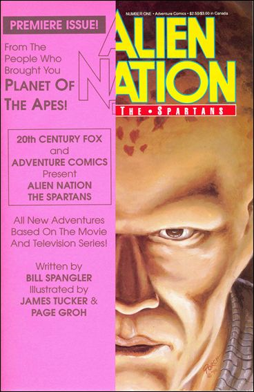 Alien Nation: The Spartans 1-B by Adventure